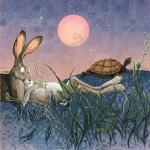 AESOP Tortoise and Hare by Arlene Graston