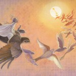 IN EVERY MOON Birds by Arlene Graston
