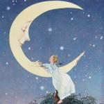 MOON SERIES Mother Moon by Arlene Graston