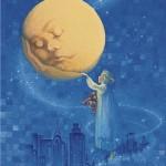 MOON SERIES Wake up, Dear Moon by Arlene Graston